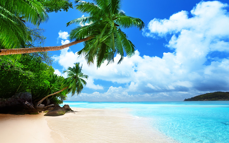 Mahe island in Seychelles Africa Oceania Cruises