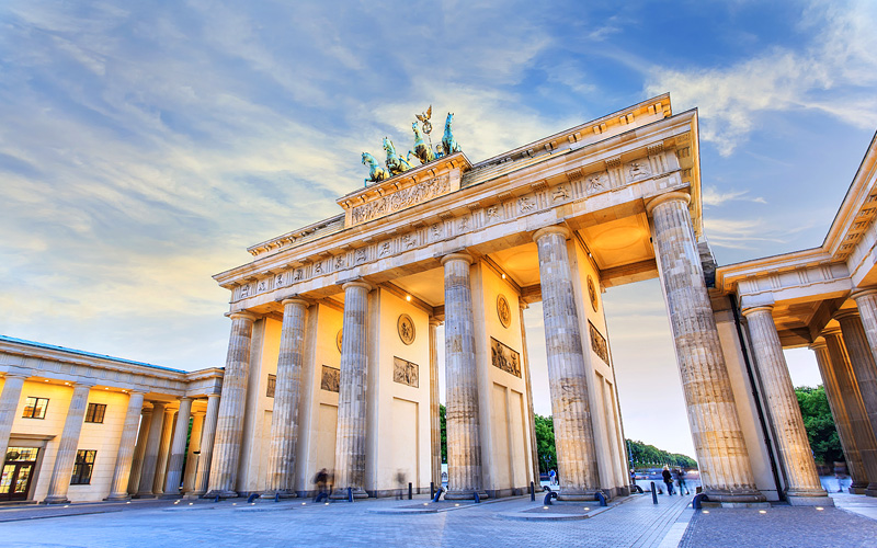 Brandenburg gate of Berlin, Germany Oceania Cruise