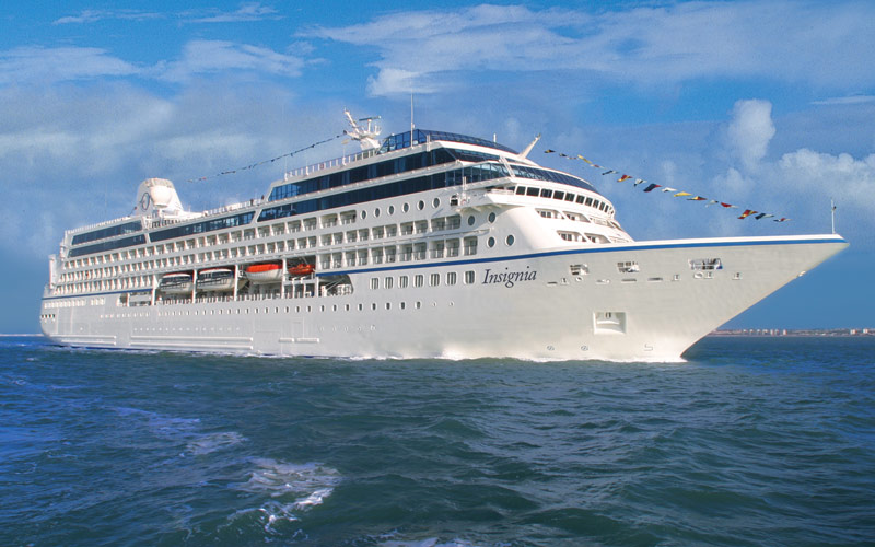 Oceania Cruises Insignia exterior