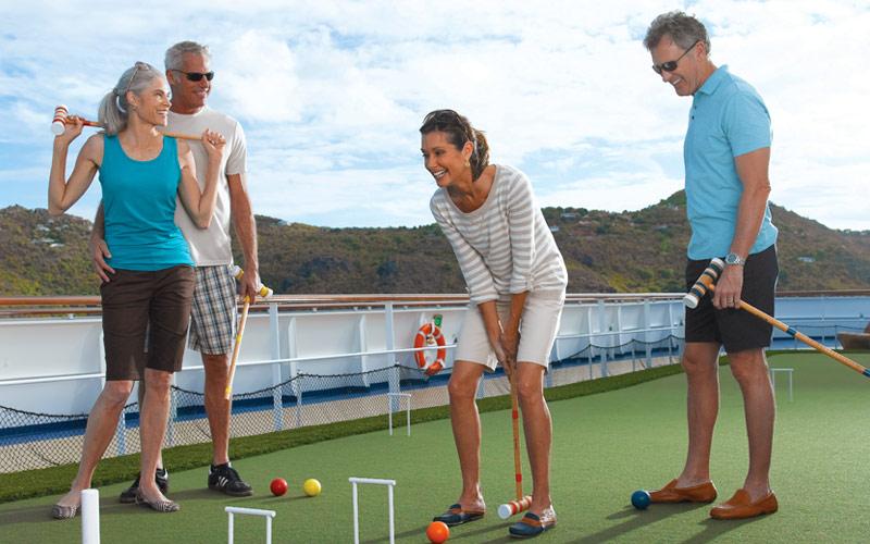 Oceania Cruises Marina croquet