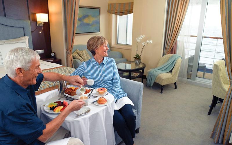 Oceania Cruises Marina Penthouse