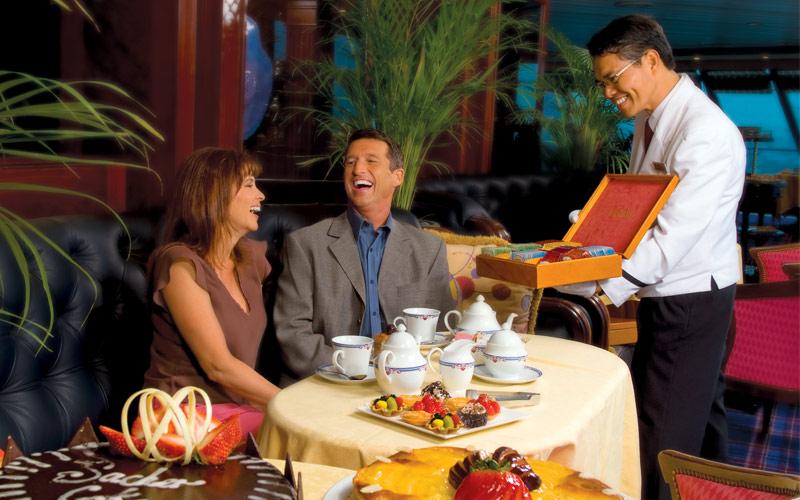 Oceania Cruises Nautica Horizons High Tea