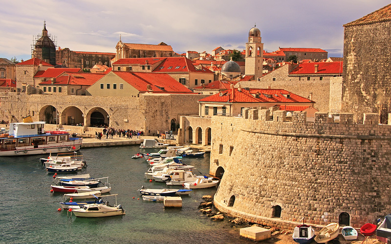 Old Harbour at Dubrovnik, Croatia Oceania Cruises