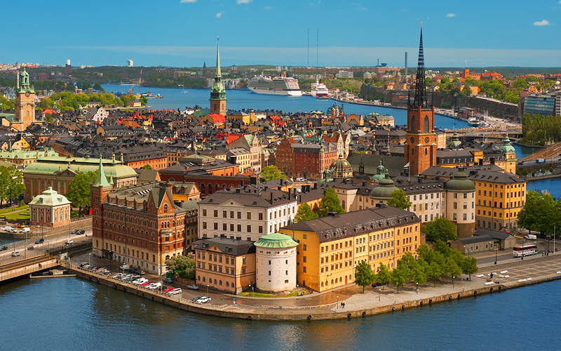 Old City of Stockholm Oceania Cruises Europe