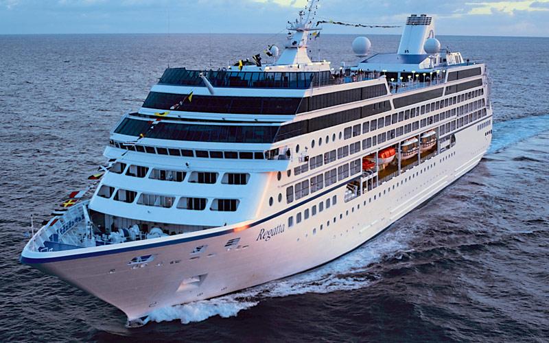 Oceania Cruises Regatta exterior
