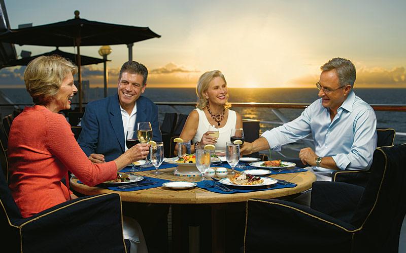 Oceania Cruises Regatta Terrace Cafe