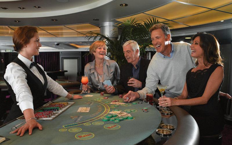 Oceania Cruises Riviera casino