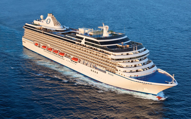 Oceania S Riviera Cruise Ship 2019 And 2020 Oceania