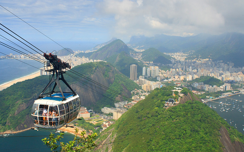 Sugar Loaf Mountain South America Oceania Cruises