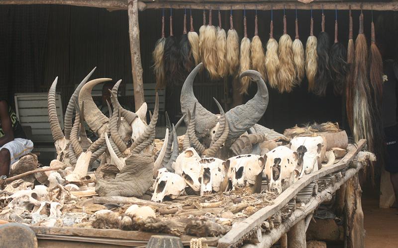 Voodoo ceremonies, Lome, Togo Africa Oceania World