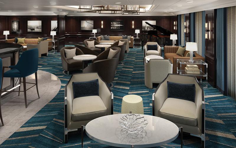 Oceania Insignia Martini Lounge