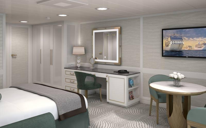 Oceania Regatta Penthouse Vanity