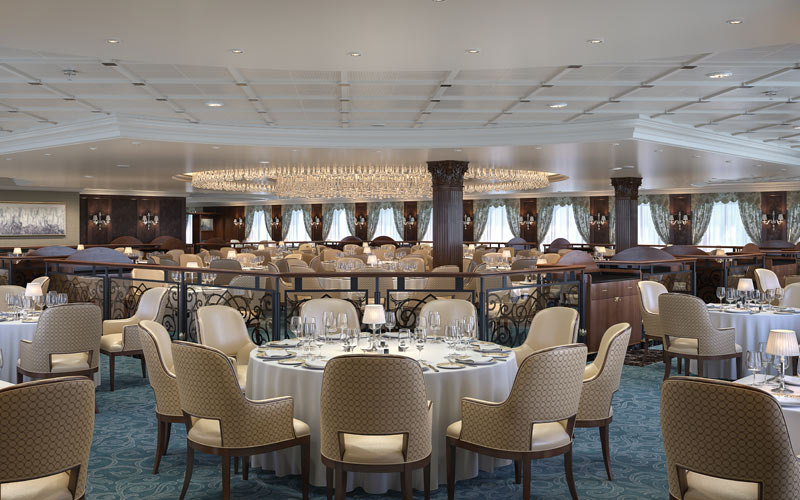 Oceania Sirena Grand Dining Room