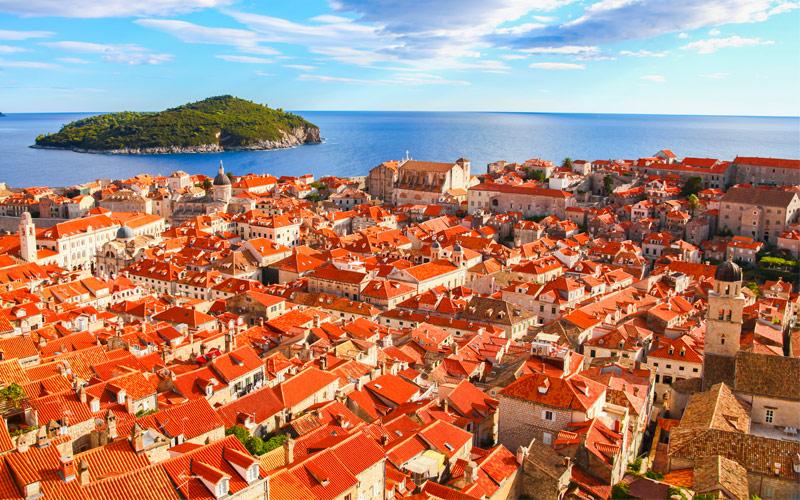 Old Dubrovnik Croatia Mediterranean