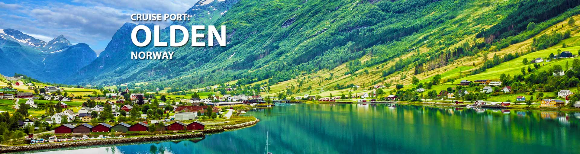 Cruises to Olden, Norway