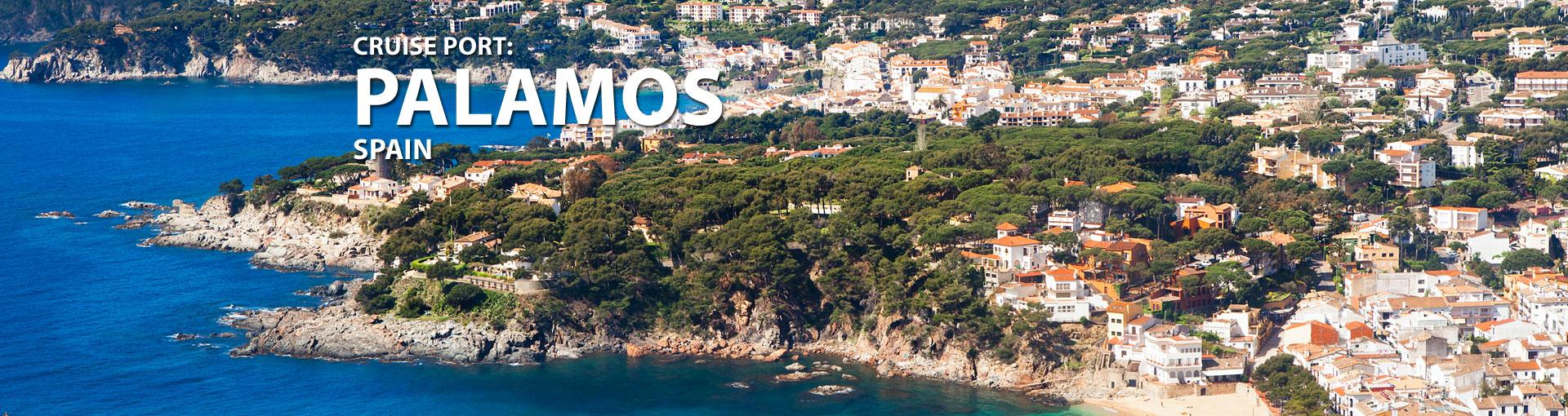 Cruises to Palamos, Spain