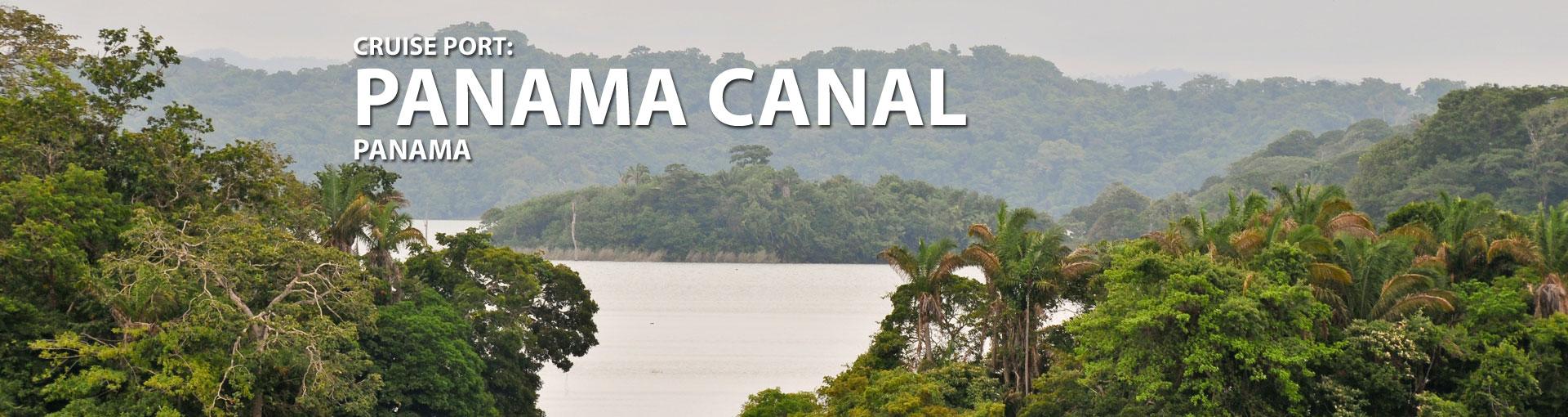Cruises to Panama Canal, Gatun Lake, Panama