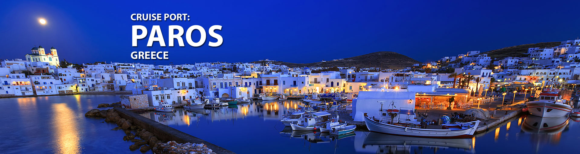 Cruises to Paros, Greece
