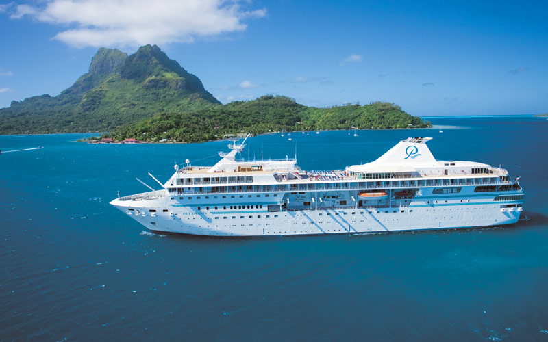 Paul Gauguin Cruises M/S Paul Gauguin exterior