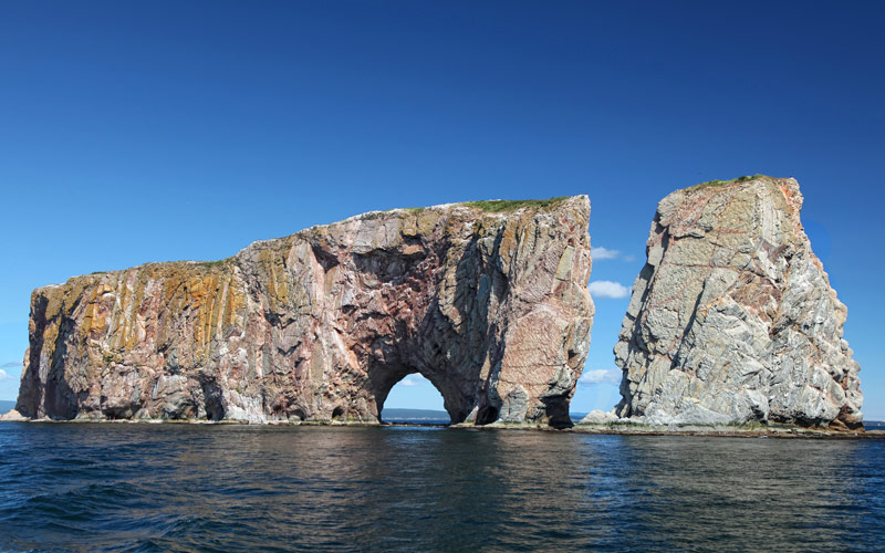 Percé Rock Quebec Canada