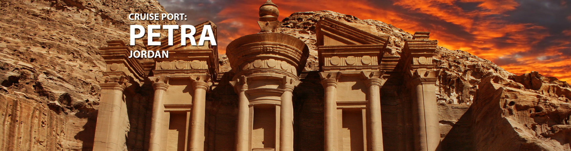 Cruises to Petra, Jordan