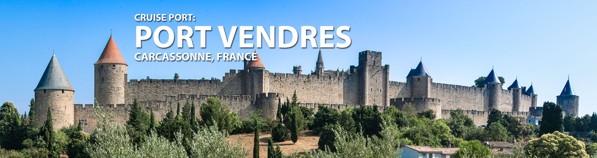 Cruises to Port Vendres (Carcassonne), France