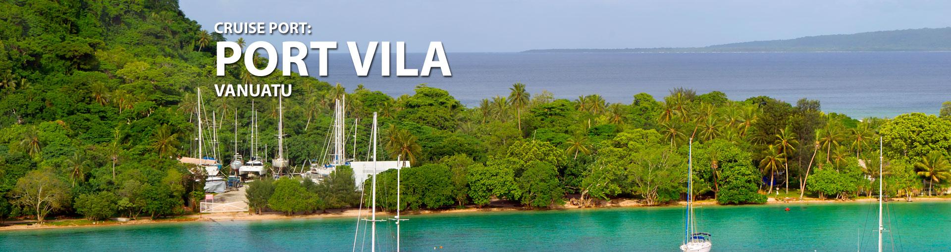 Cruises to Port Vila, Vanuatu