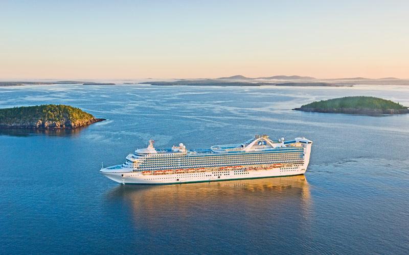 Princess Cruises Caribbean Princess exterior