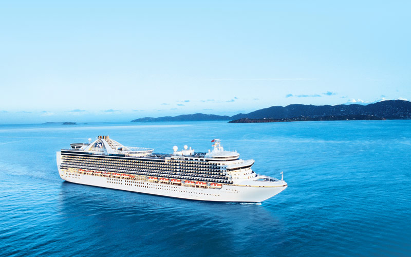 Princess Cruises Crown Princess exterior