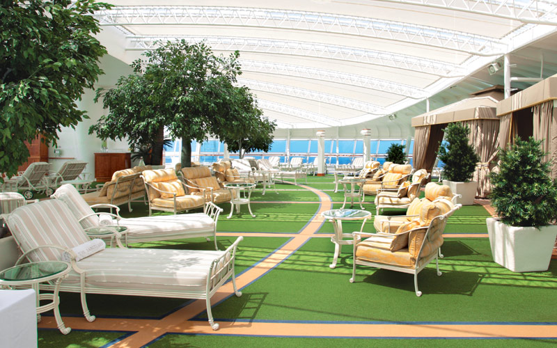 Princess Cruises Crown Princess sanctuary