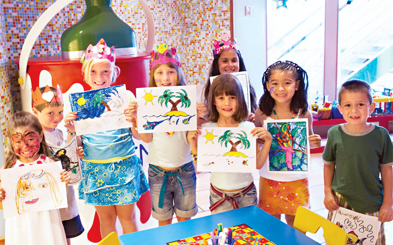 Princess Cruises Crown Princess youth programs