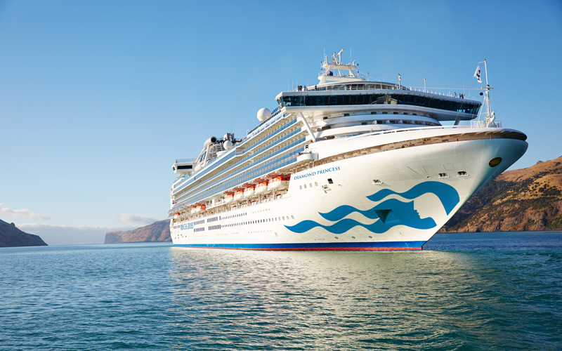 Diamond Princess Exterior