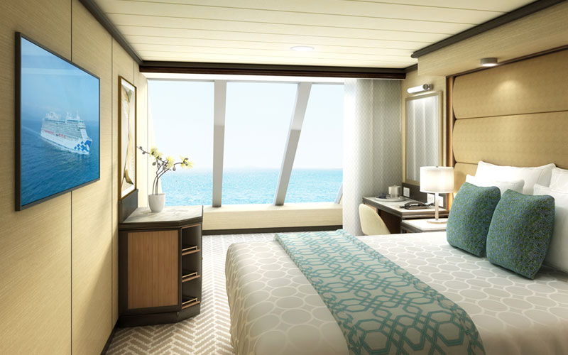 Deluxe Ocean View for Discovery Princess