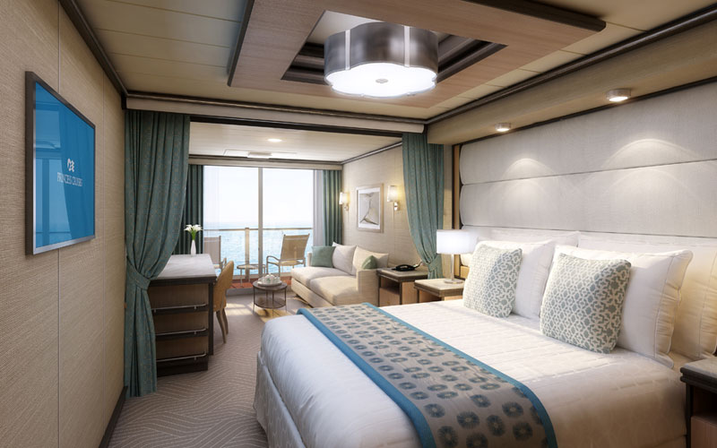 Mini Suite Aboard Discovery Princess