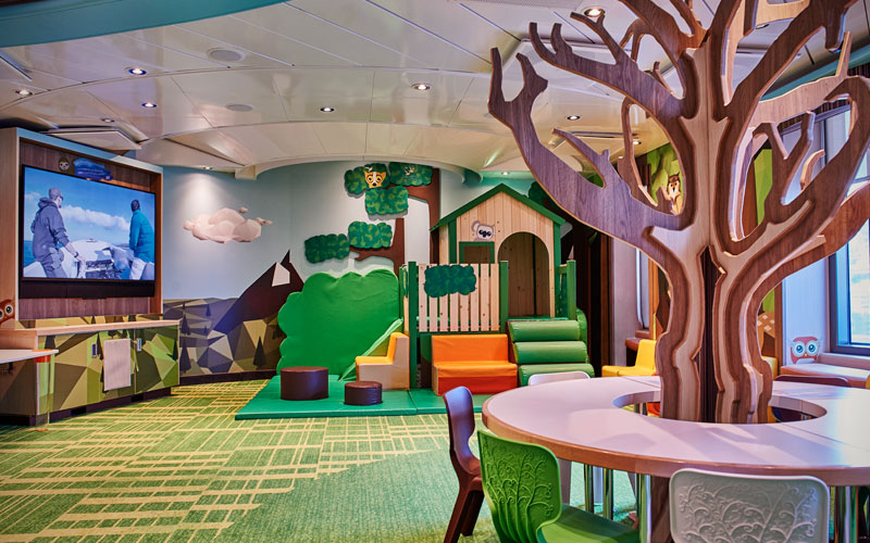 Treehouse Aboard Discovery Princess