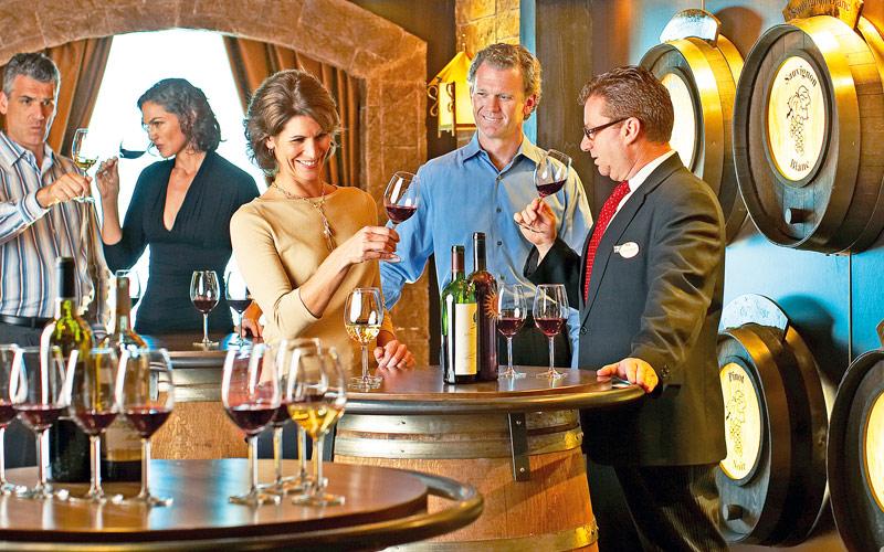 Princess Cruises Emerald Princess Vines Bar