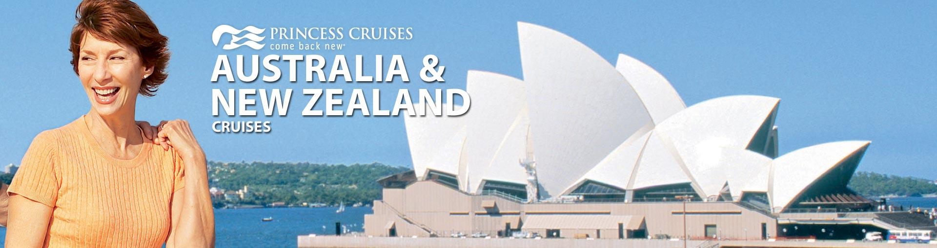 Princess Australia New Zealand Cruises