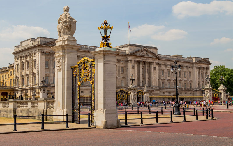 Buckingham Palace London Princess Northern Europe