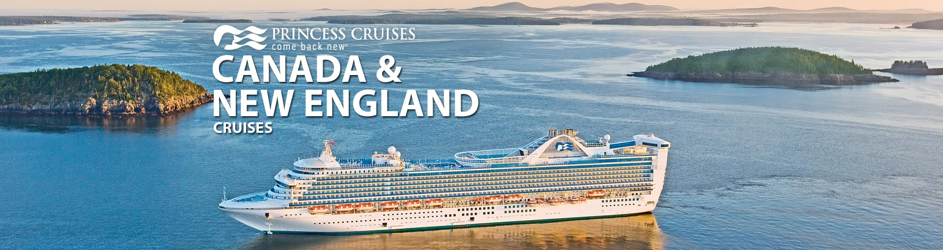 Princess Canada New England Cruises