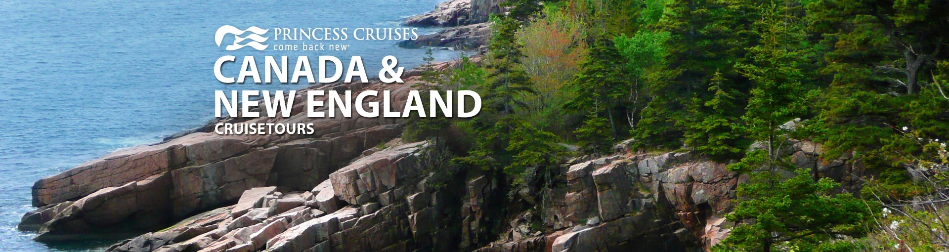 Princess Canada New England Cruise Tours
