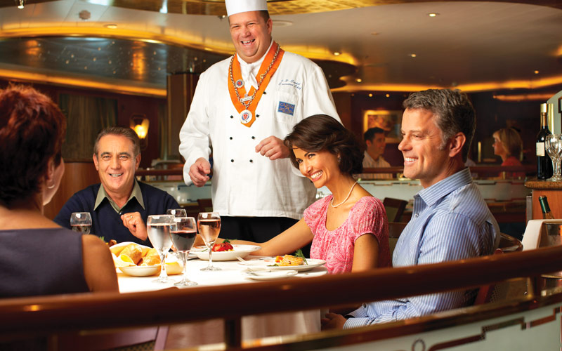 Princess Cruises Golden Princess Donatello Dining