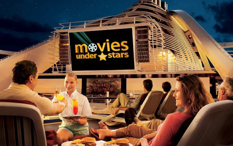 Princess Cruises Grand Princess Movies under the s