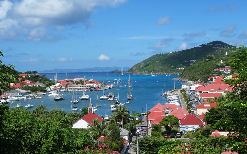 Gustavia Harbor, St. Barths Princess Caribbean