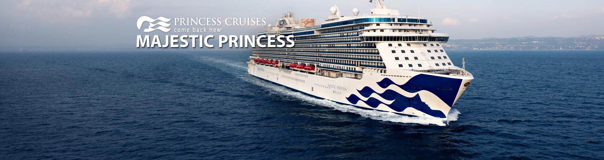 Majestic Princess Cruise Ship 2018 And 2019 Majestic Princess Destinations Deals