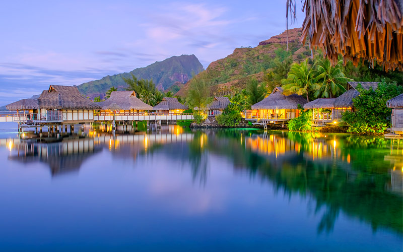 Overwater Bungalows South Pacific Princess