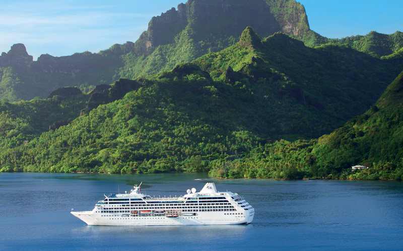 Princess Cruises Pacific Princess Bora Bora