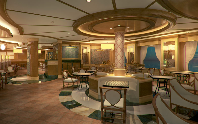 Princess Cruises Royal Princess Alfredos Pizzeria