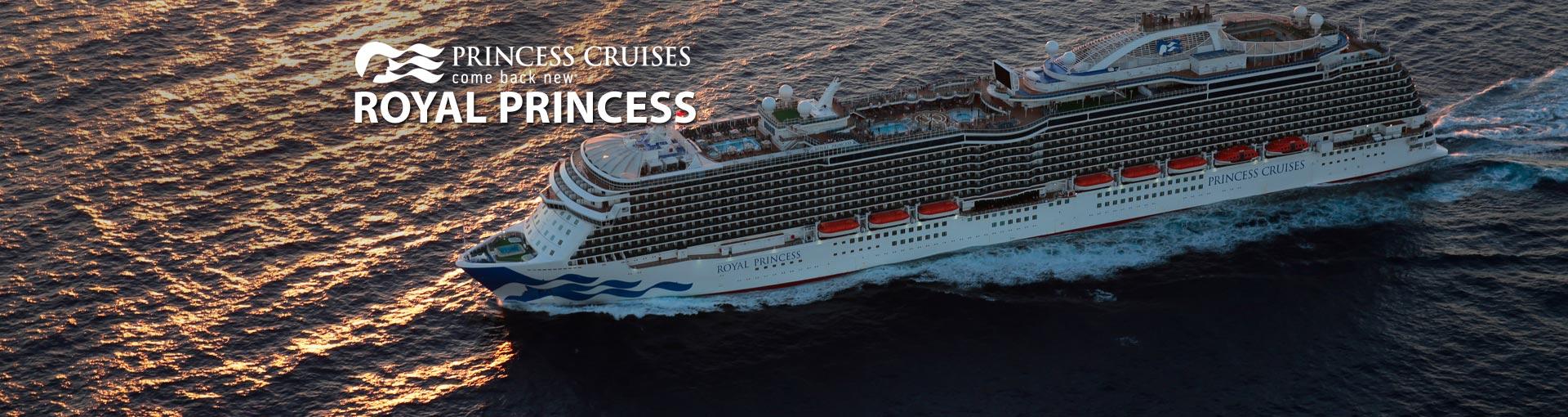 Princess Cruises Royal Princess cruise ship