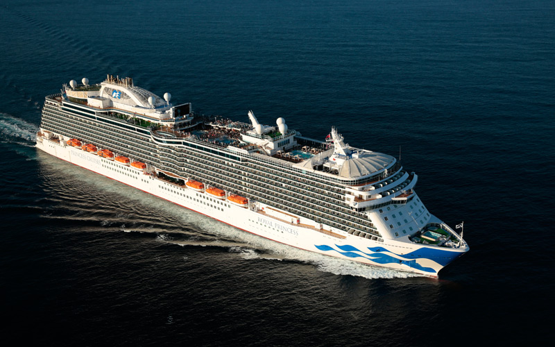 Royal Princess Cruise Ship 2017 And 2018 Royal Princess