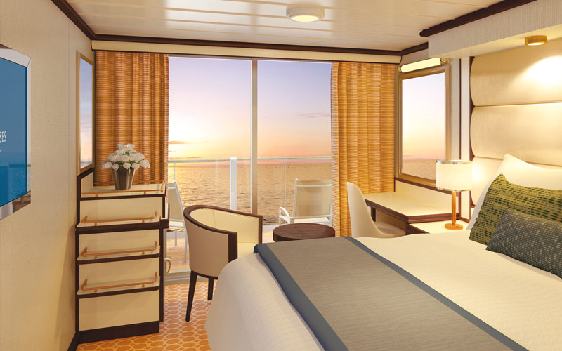 Princess Cruises Royal Princess Standard Balcony